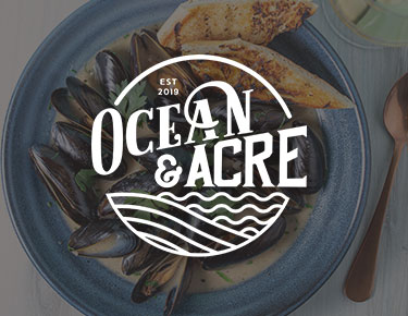 Ocean And Acre restaurant logo